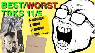 Best & Worst Tracks: 11/5 (N.E.R.D & Rihanna, Taylor Swift, Converge, Gorillaz, CyHi)