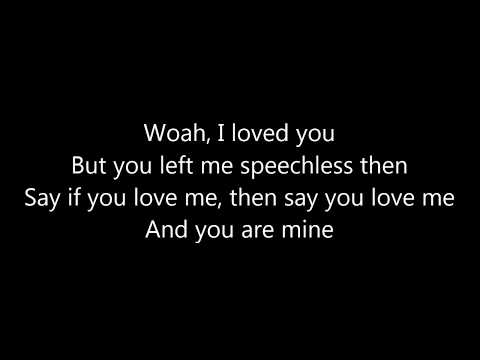 Robin Schulz feat. Erika Sirola - Speechless LYRICS