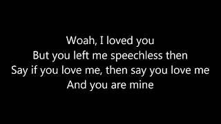 Robin Schulz feat. Erika Sirola - Speechless LYRICS