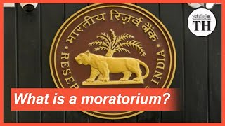 What is a moratorium?