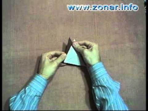 Оригами - Ёжик