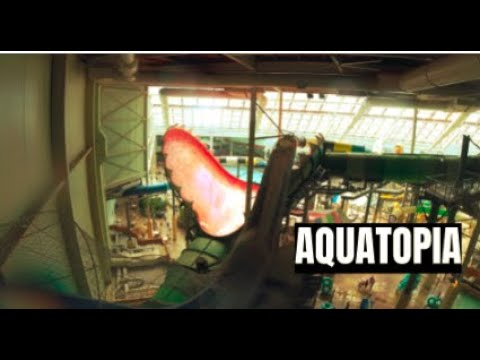 All Waterslides At Aquatopia Indoor Waterpark @ Camelback Lodge, PA