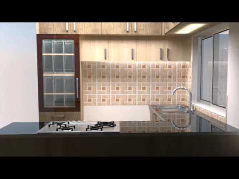 Kitchen for Aysha's Residence at Bommanahalli Bangalore. Concept & Designed By Pervez Ahamed