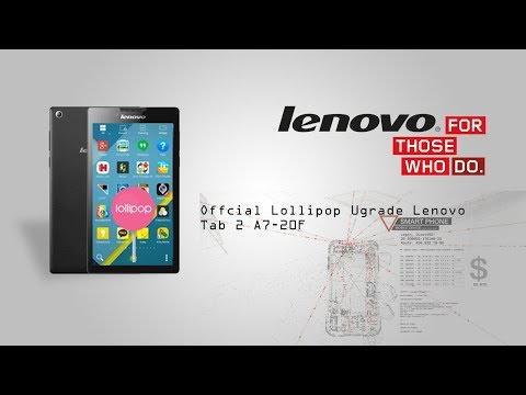 How to install Official Lollipop for Lenovo Tab-2 A7-20F