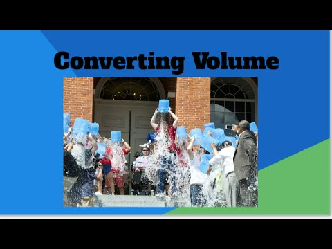 Learn How To Convert Any Unit Of Volume Measurement