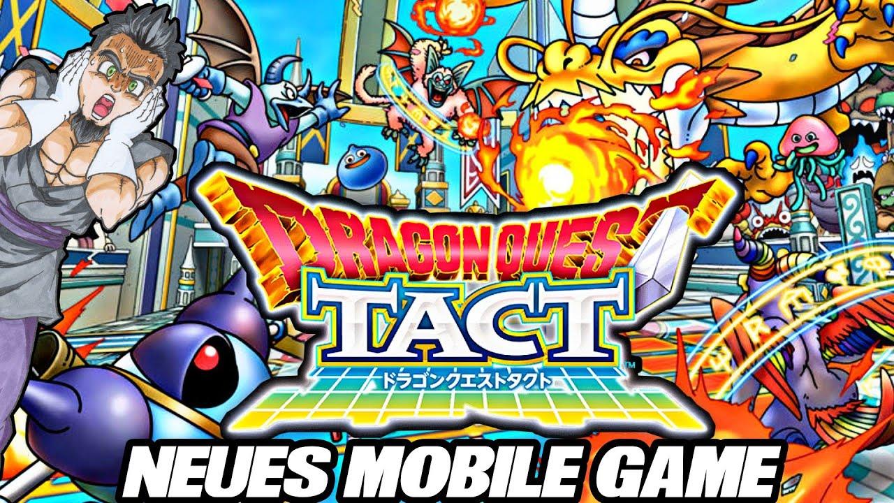 Dragon Quest Tact - Neues Dragon Quest Monsters Mobile Game kommt! 😱😍 Es sieht so gut aus!