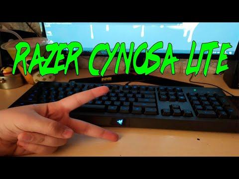 Клавиатура проводная Razer Cynosa Lite RGB Chroma USB (RZ03-02741500-R3R1)