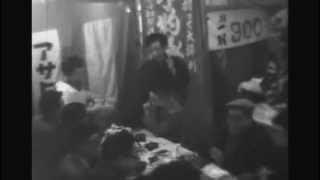 昭和33年 浅草 お酉さまの会 宴会風景 笠松紫浪も出席?