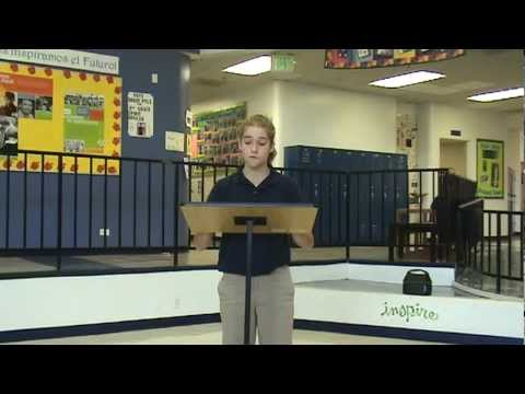 Student Council Speeches 2012-2013 Part 2