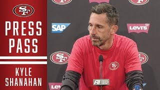 Kyle Shanahan: George Kittle is Questionable vs. Rams | 49ers