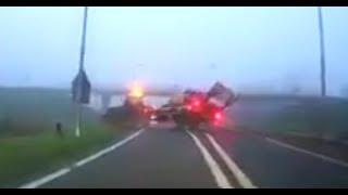 Heftige dashcam beelden opgedoken van ongeval op de N242
