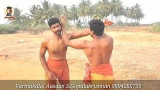 வர்மக்கலை எளிய அடிமுறை/Varmakalai Simple Attack/S.Gopalakrishnan+919894285755