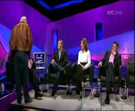 Pat Kenny heckled and attacked live on the Late Late Show