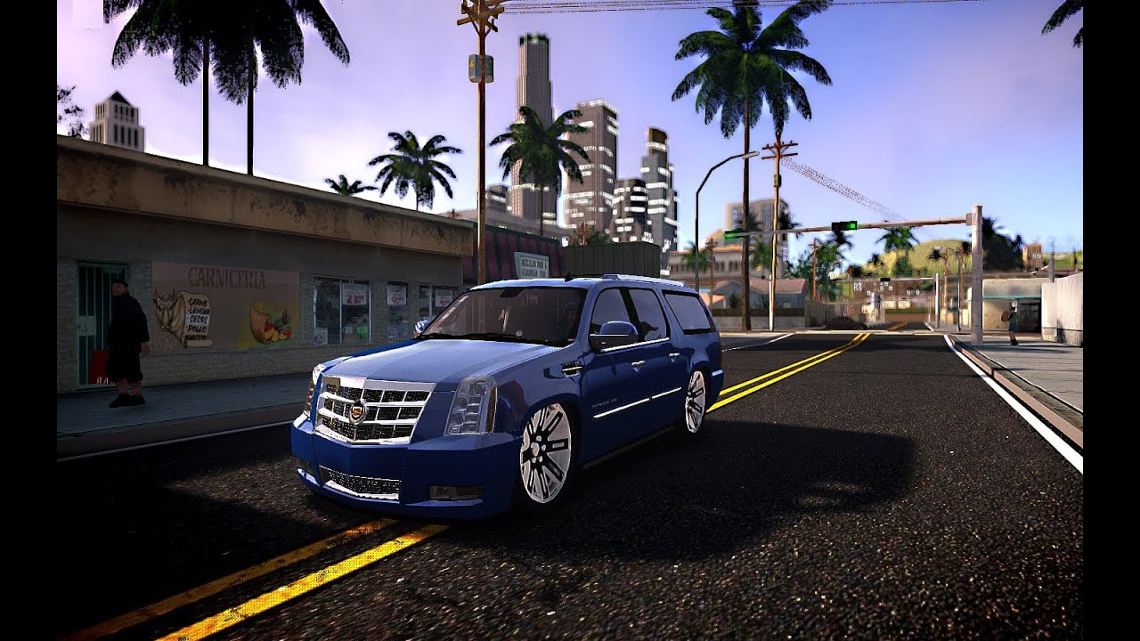 Gta Iv San Andreas Beta Cadillac Escalade Esv 2012 Dub