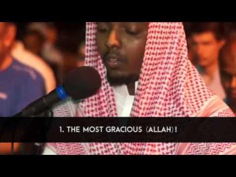 Live Street Prayer | Surah Ar Rahman By Ibrahim Jabarti