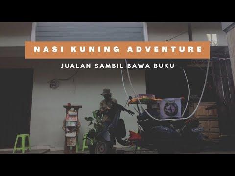 Berjualan Nasi Kuning Adventure Sukabumi Sambil Menebar Literasi
