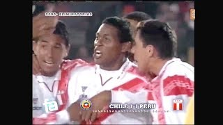 Chile 1 - Peru 1 - Eliminatorias Corea Japon 2002