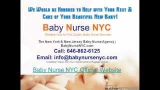 Baby Nurse NYC & NJ Agency Services