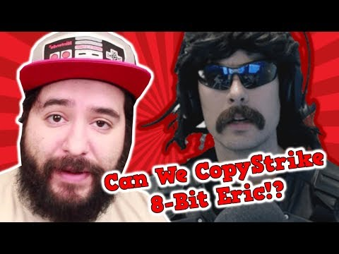 Dr. Disrespect Issues a False Copyright Claim Against 8-Bit Eric   #TipsterNews
