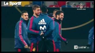 Sergio Ramos et Diego Costa: Ennemis en club, Amis en Sélection