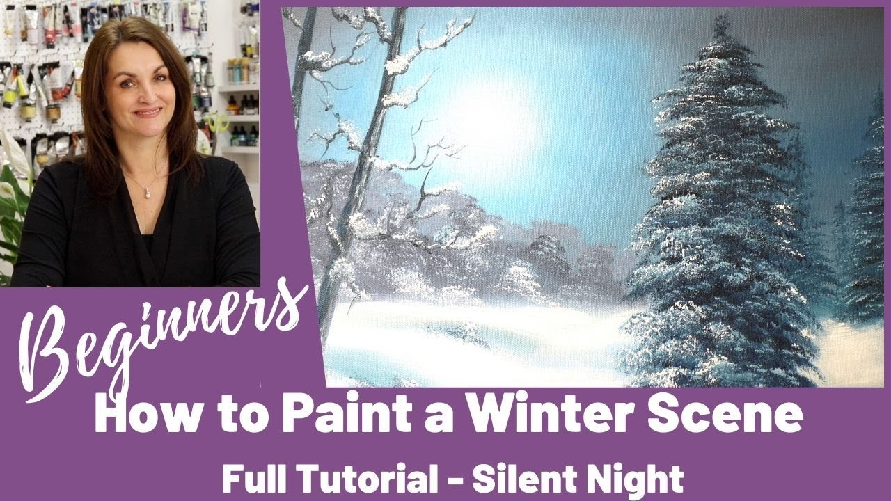 How To Paint With Oils On Canvas Beginners