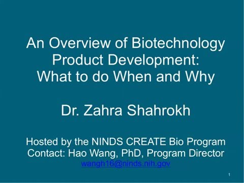 An Overview of Biotechnology Product Development: What to do