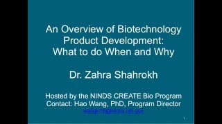 An Overview of Biotechnology Product Development: What to do When and Why