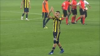 Benzia ve Ayew tribünlere teşekkür etti (Fenerbahçe 1-1 Beşiktaş 24.09.18)