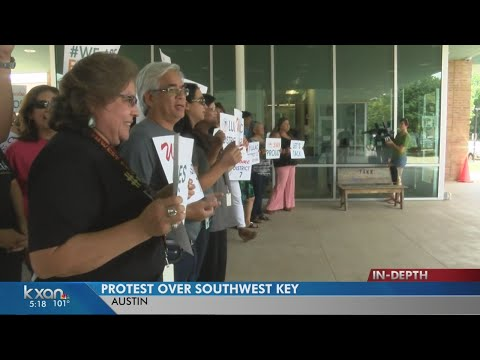 Protests call for end to public support of Southwest Key programs