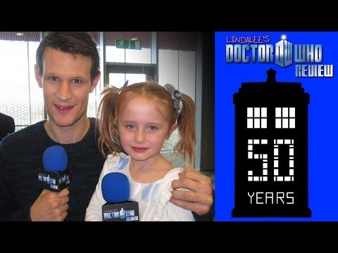 Matt Smith - Lindalee Interviews the 11th Doctor - Doctor Who Week