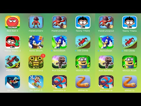 Minion Rush,Sackboy,KickTheBuddy,Sausage,RedBall4,LoveBalls,Sonic,Shark,PvZ,Subway,Hill Climb,Temple