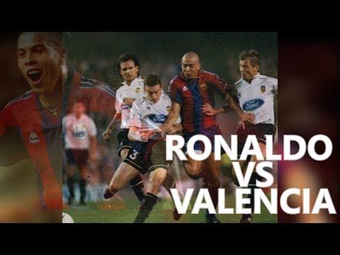 Ronaldo vs Valencia 1996/1997