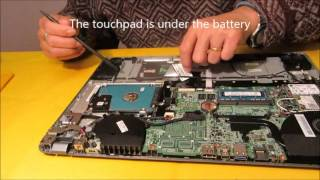 видео Ремонт ноутбука ACER Aspire V7-582PG