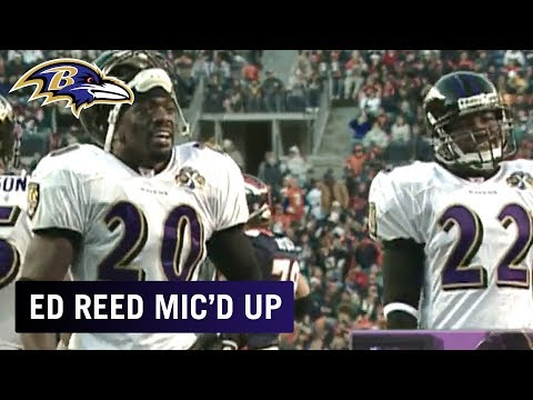 Ed Reed Mic'd Up vs. Broncos 'It's a Playoff Game Every Sunday' | Baltimore Ravens