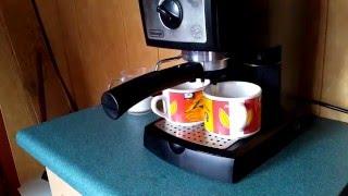 Кавоварка Delonghi EC156.B Приготування кави еспрессо