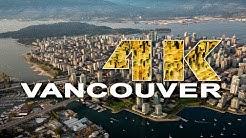 VANCOUVER   BRITISH COLUMBIA , CANADA - A TRAVEL TOUR - 4K UHD