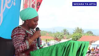 KIGOMA: ALIYOYASEMA WAZIRI UMMY KATIKA SIKU YA MALARIA DUNIANI