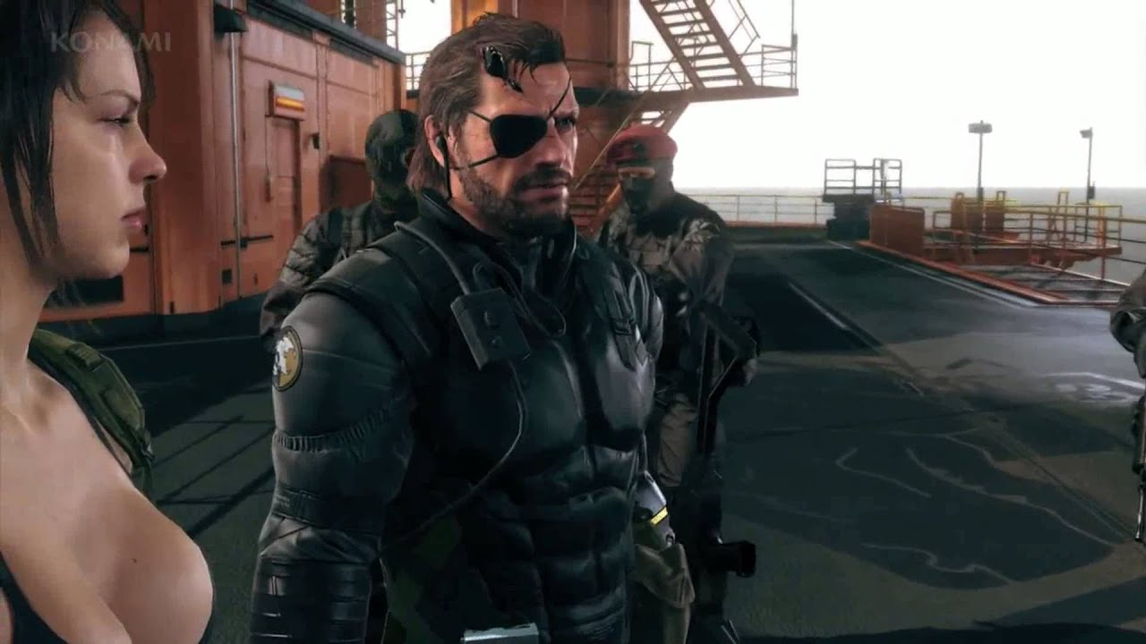 Metal Gear Solid 5: Quiet Gets HOT and Tries to Kill Me