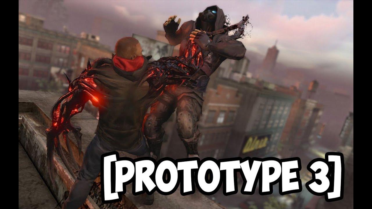 Прохождение игры Prototype (3 часть) - YouTube