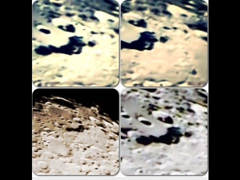 what can you see on the moon with a backyard telescope?