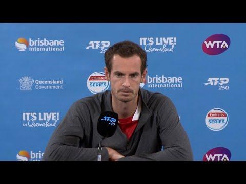 Andy Murray press conference (2R) | Brisbane International 2019