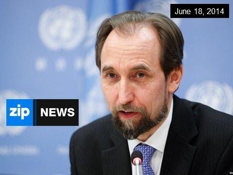 Prince Zeid Al-Hussein of Jordan Elected to UN - June 18, 2014