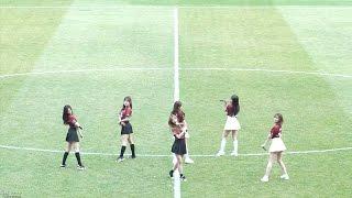 [4K]170312 에이핑크(Apink) 프로축구 대전시티즌 홈개막전 하프타임 공연 내가 설렐 수 있게 단체 직캠(Fancam)