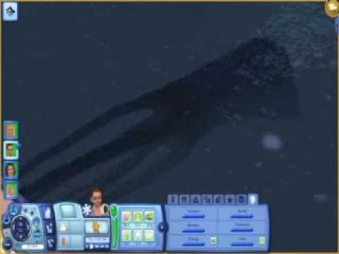 Sighting of the KRAKEN! (The Sims 3 Island Paradise) - YouTube