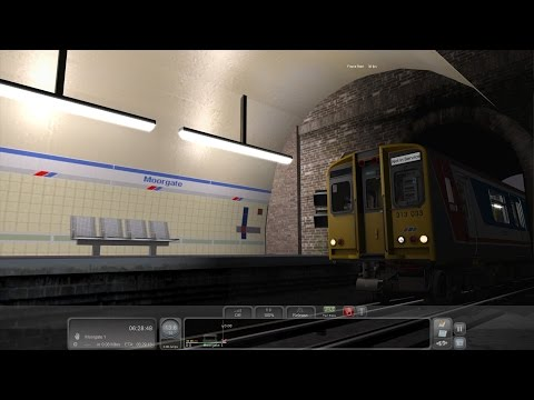 Train simulator 2017: Class 313 WGC-moorgate with moorgate extension