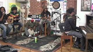 """ROOTZ UNDERGROUND """"Fire And Ice"""" - acoustic @ the MoBoogie Loft"""
