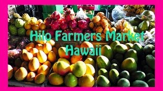Hilo Farmers Market Big Island Hawaii