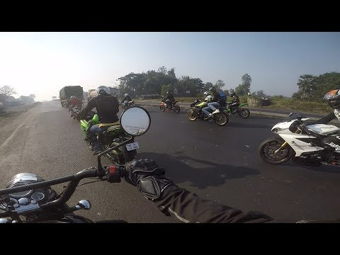 last ride of 2017 with superbikes
