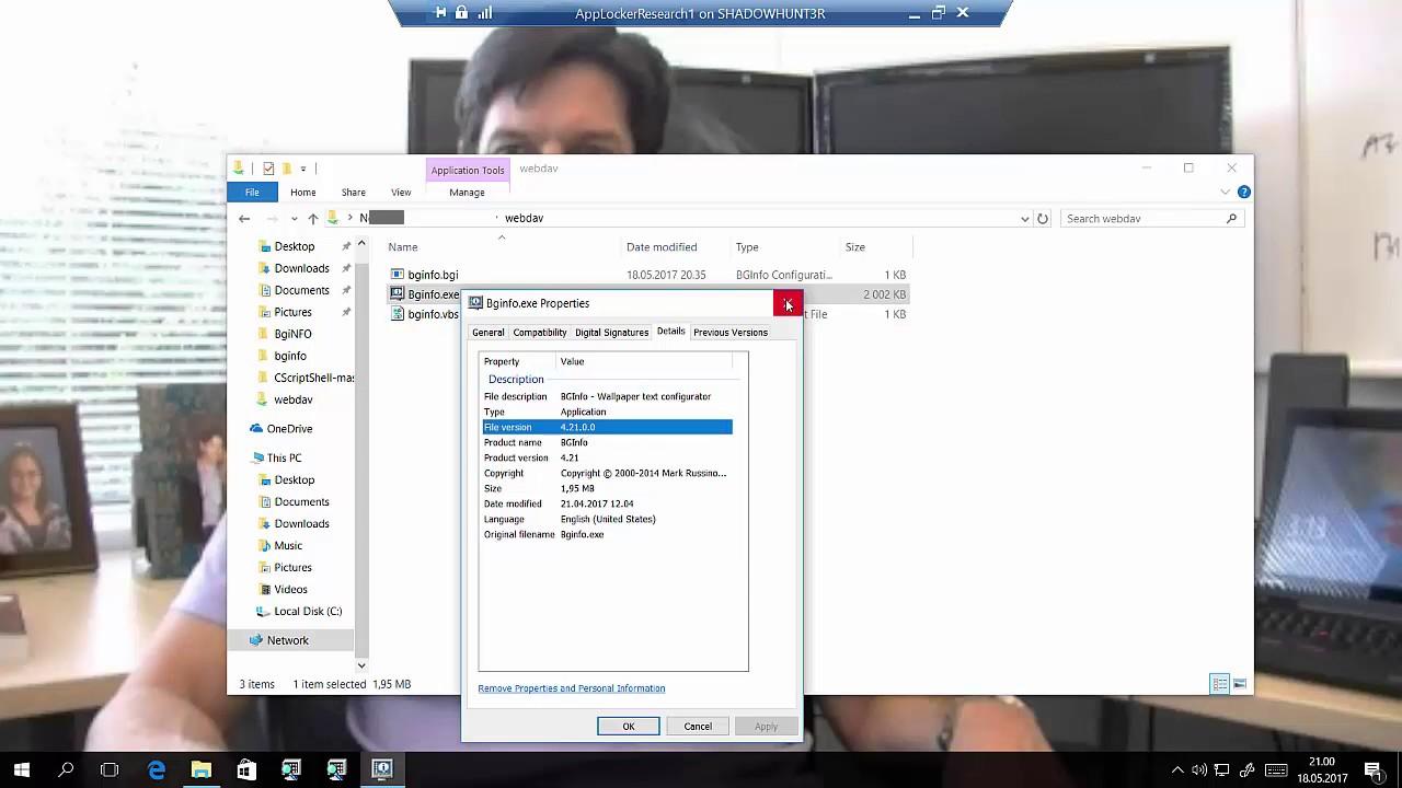 Bypassing Application Whitelisting with BGInfo | MSitPros Blog