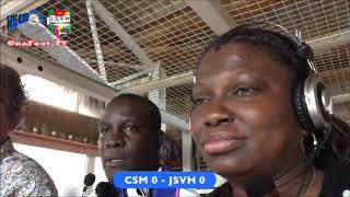 ⚽️ -GuaFoot TV-  Le –CSM- remporte, par le plus petit des scores, le choc face à –JSVH-⚽️
